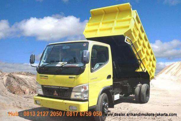 paket kredit dp hemat colt diesel 2020, paket dp hemat dump truck 2020