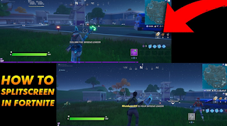 How to split screen fortnite, here's how