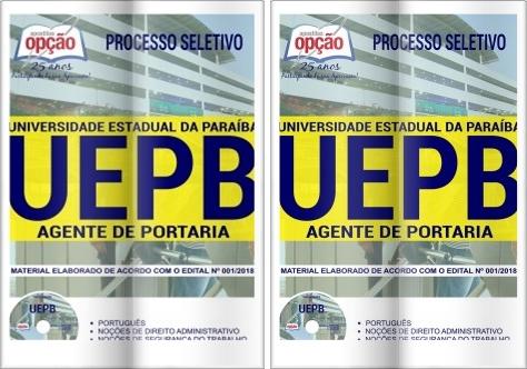 Processo Seletivo Universidade Estadual da Paraíba - Agente de Portaria 2018