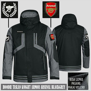Jual Jaket Waterproof Arsenal Murah