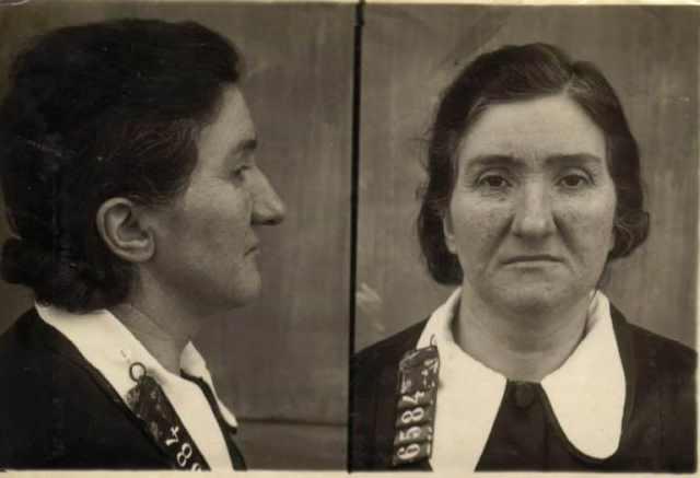 Leonarda Chianculli asesina en serie ficha policial