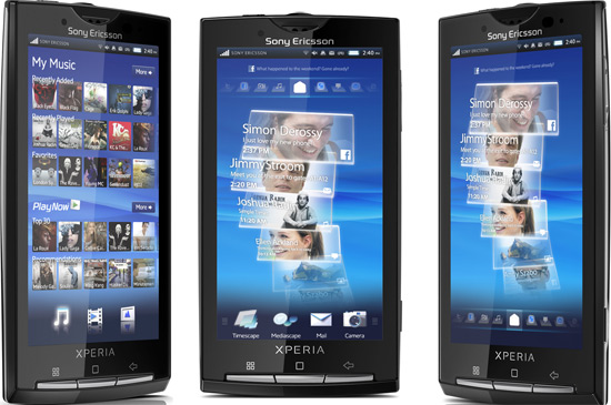 Sony Ericsson Xperia X10 Mobile9 Games free download