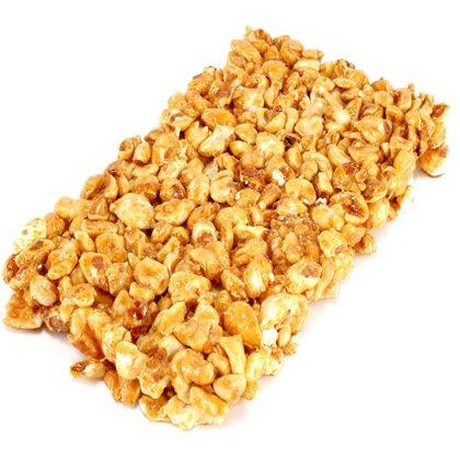 Crunchy Caramel Popcorn Bars Recipe