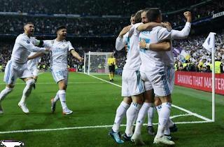 ريال مدريد بقيادة كرستيانو رونالدو وهدفين كريم بنزيما في نهائي دوري أبطال أوربا