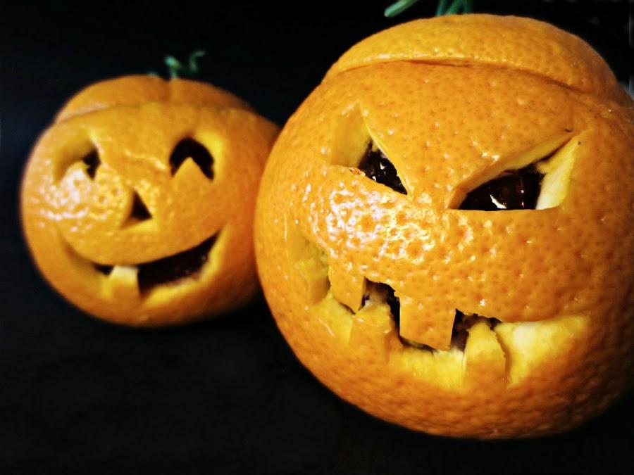 Receta Naranjas Halloween (Foto: Otro día Perfecto)