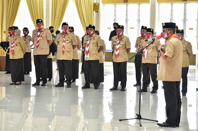 Bupati Sergai Mendapat Penghargaan Lencana  Pancawarsa IV dari Gubernur Sumut