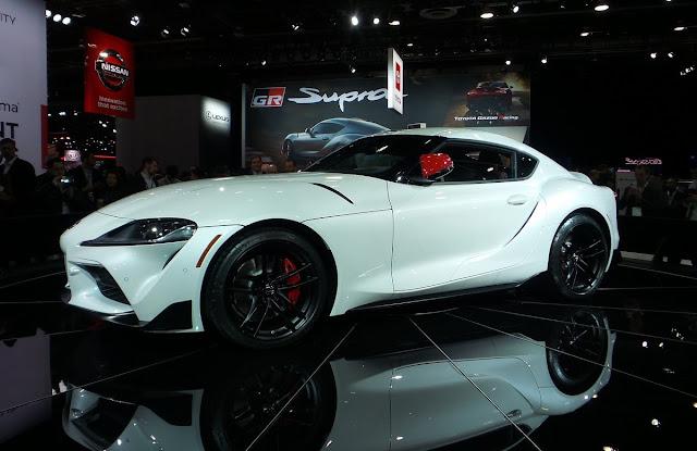 Toyota Supra 2020 debut