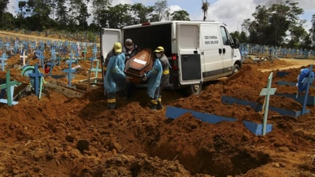 Brasil ultrapassa 498 mil mortes pela Covid-19 desde o início da pandemia