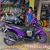 Mẫu xe Yamaha Luvias sơn màu tím mộng mơ cực đẹp tại TP.HCM