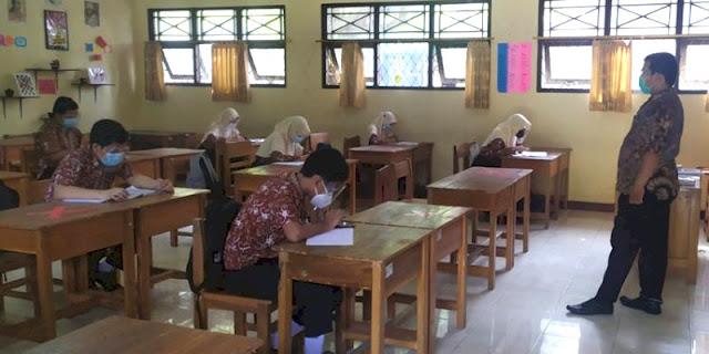 Seminggu Ikuti PTM, 90 Siswa SMPN 4 Mrebet Purbalingga Malah Positif Covid