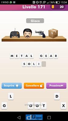 Emoji Quiz soluzione livello 171
