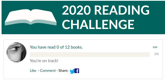 2020 reading challenge Mariaparask29