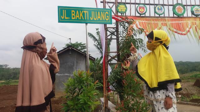 """Asal Usul Nama """"JL. BAKTI JUANG"""" Sonosari Menuju Trugo Desa Jatiwarno"""