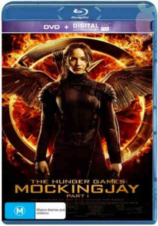 The Hunger Games Mockingjay Part 1 2014 BDRip 400Mb Hindi Dual Audio Watch Online Full Movie Download bolly4u