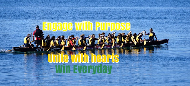 ENGAGE WITH PURPOSE