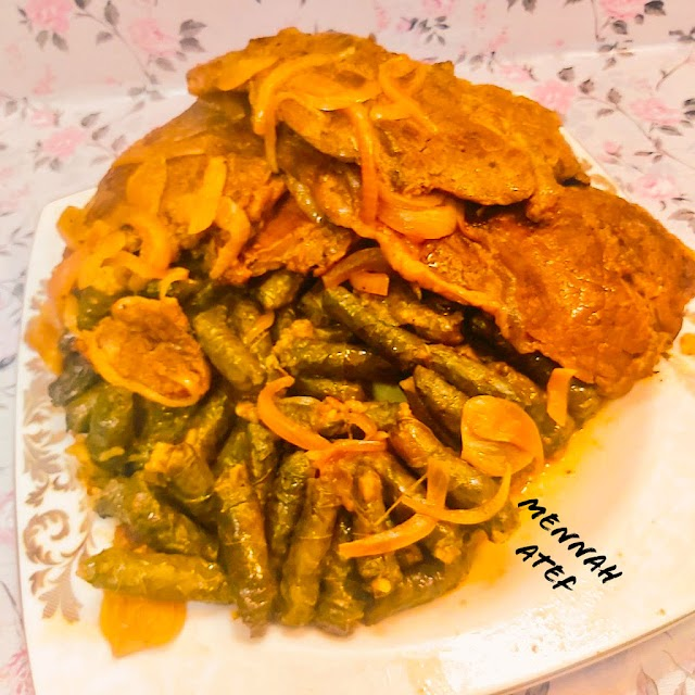 وصفة العيد :  ورق عنب بستيك لحمة