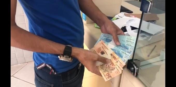 PF prende em Mossoró acusado de receber dinheiro falso através dos Correios