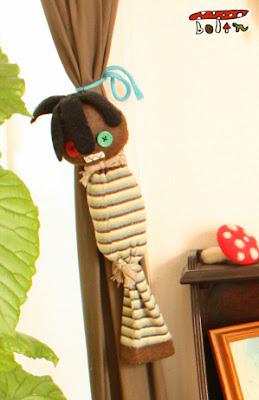 くつしたで作った人形