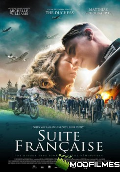 Capa do Filme Suite Francesa