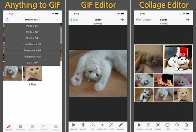 أفضل تطبيق لعمل الصور المتحركة GIF للايفون