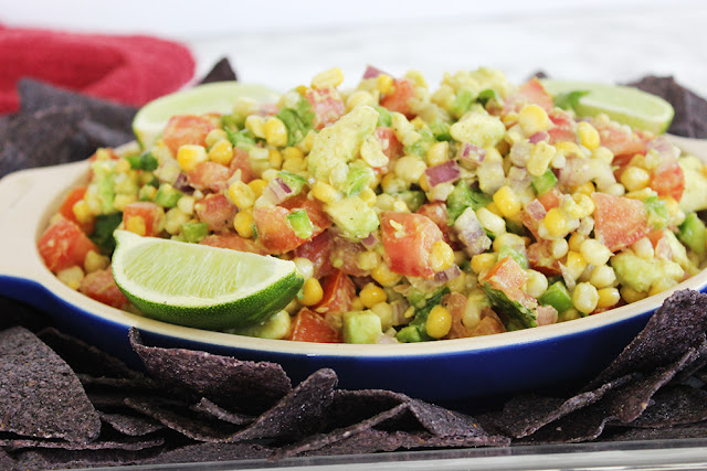 Sunshine Sweet Corn, Tomato & Avocado Salsa