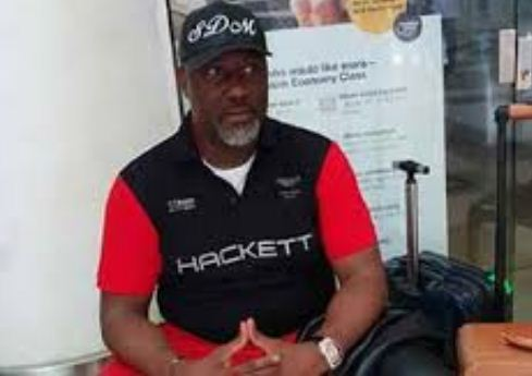 Dino Melaye Handcuffed On Hospital Bed, Police Set To Drag Him To Court (PHOTO)