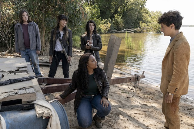 "Hoy se estrena ""The Walking Dead: World Beyond"" en AMC"