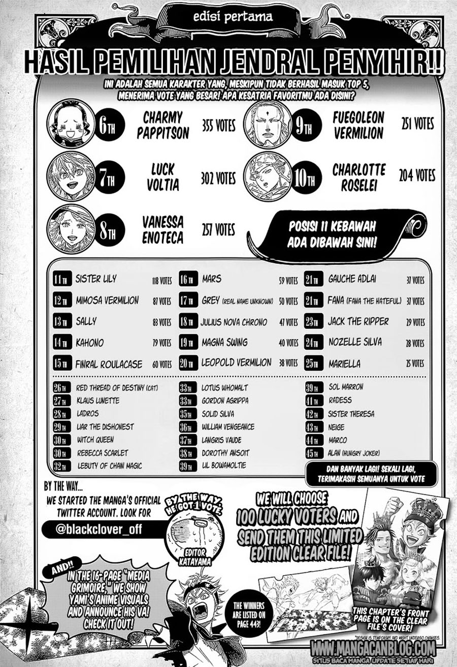 Dilarang COPAS - situs resmi www.mangacanblog.com - Komik black clover 118 - penyihir x 119 Indonesia black clover 118 - penyihir x Terbaru 2|Baca Manga Komik Indonesia|Mangacan