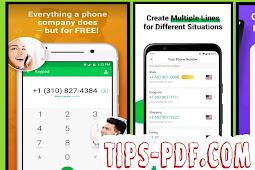 افضل 10 تطبيقات للحصول على ارقام هواتف افتراضية Virtual Phone Number  للتفعيل