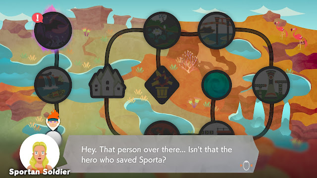 Ring Fit Adventure World 27 hero who saved Kingdom of Sporta Sportan Soldier