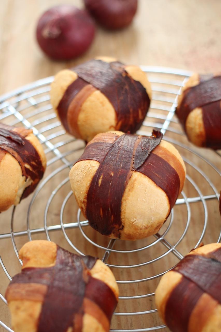 Speck-Zwiebel-Muffins