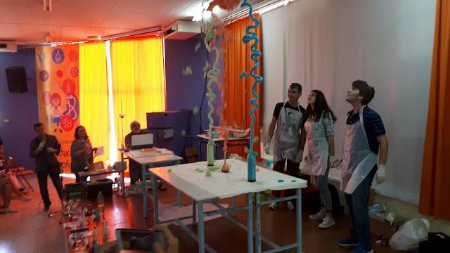Μια …εκρηκτική πρωτιά για το Ενιαίο Ειδικό Επαγγελματικό Γυμνάσιο Λύκειο Αργολίδας στο «Πανηγύρι πειραμάτων»