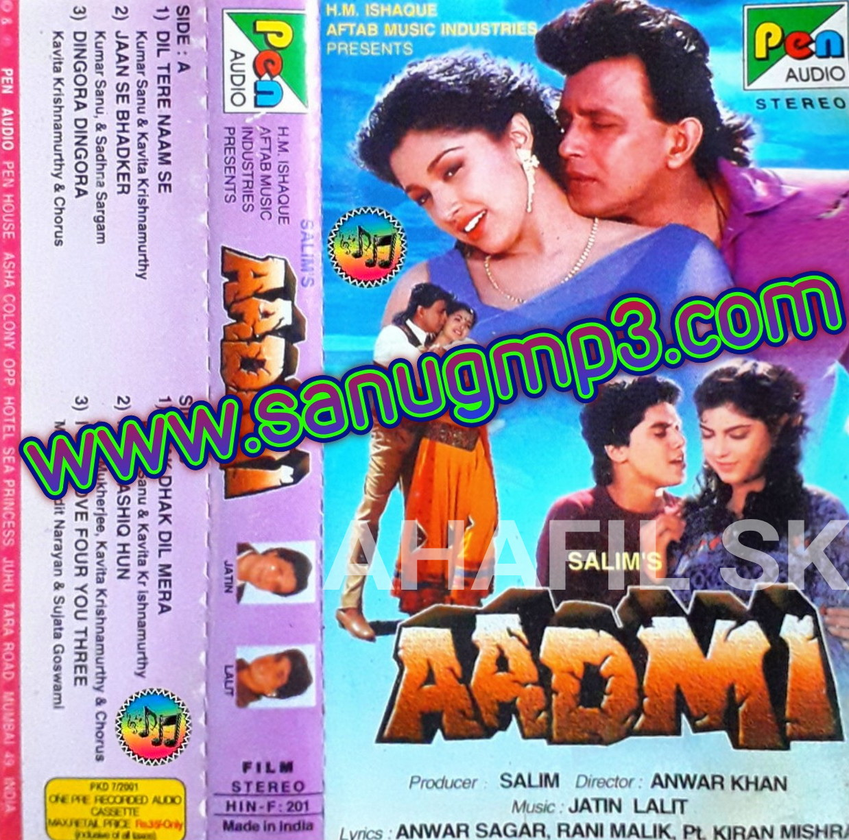 Aadmi 1993 songs hd