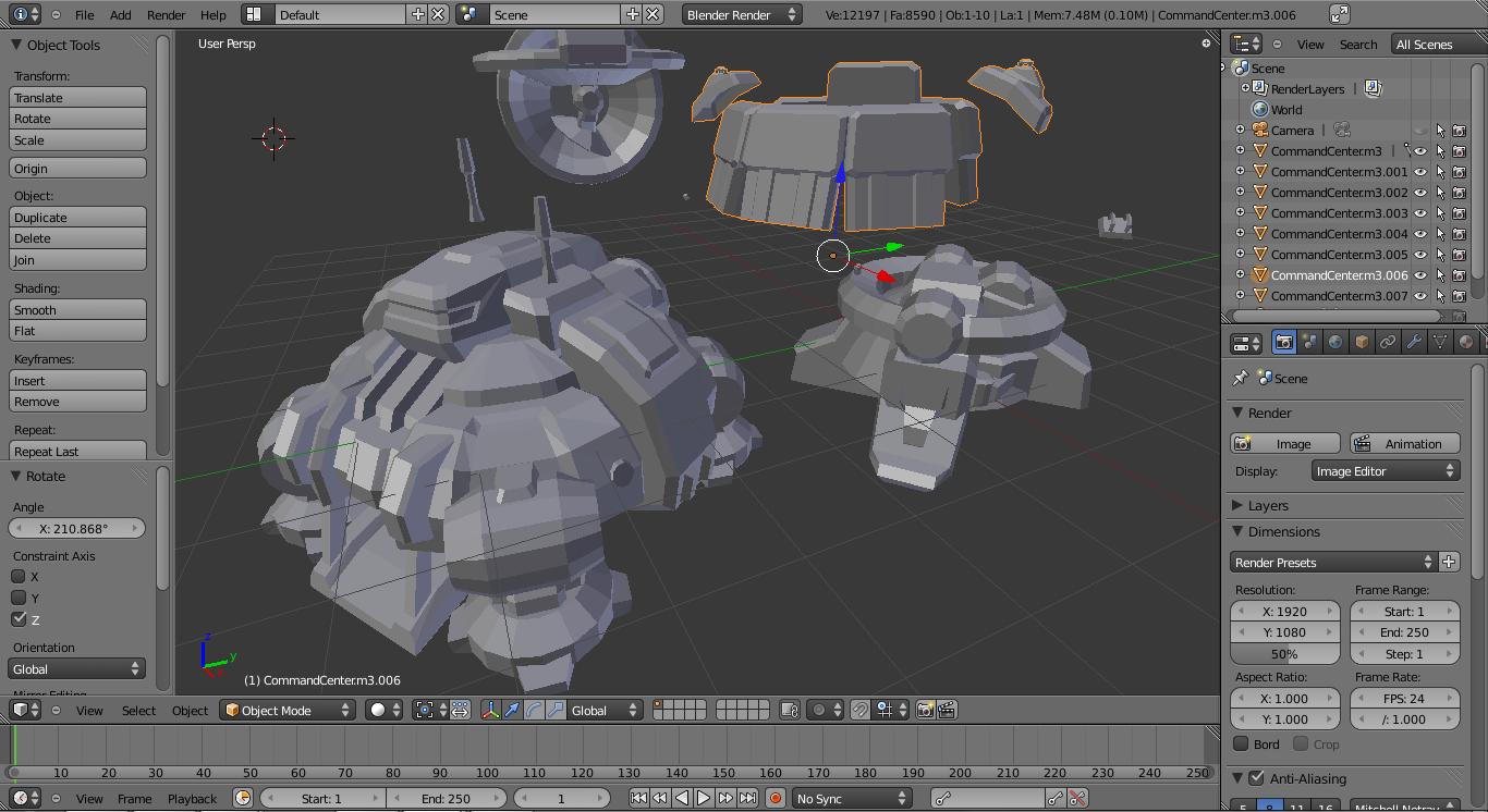 Techlab272 guida ai cad 3d per makers hobbysti e per la for Programmi per rendering