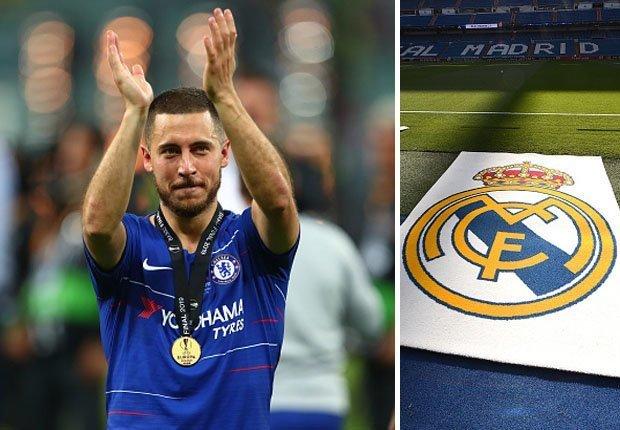 RESMI : Eden Hazard Milik Real Madrid