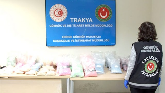 Edirne'de Uyuşturucu Dolu Tır'a Operasyon