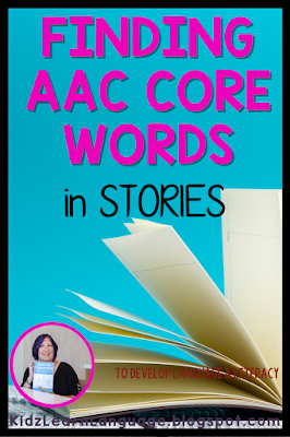 Core words in stories