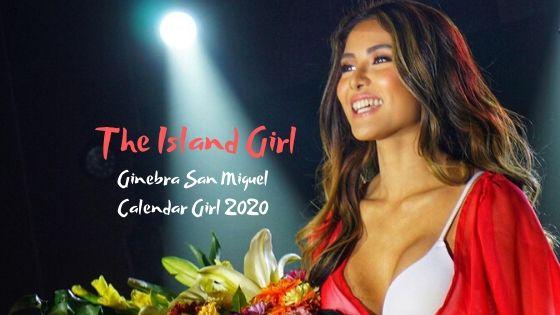 Ginebra San Miguel 2020 Calendar Girl