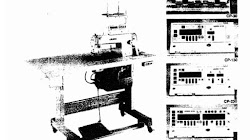 Manual Juki SC-1, SC-2, CP-30, CP-130, CP-230, CP-330