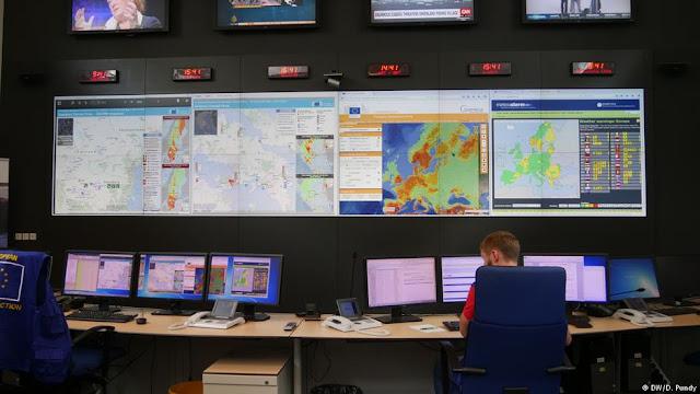 5 μόλις εργαζόμενοι στις Βρυξέλλες οργανώνουν πανευρωπαϊκά τη βοήθεια στις πυρκαγιές