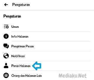 Menambah Admin Di Fanspage Facebook Lewat HP