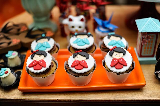 Festa de aniversário com tema Japão