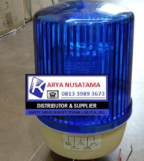 Jual Lampu Multivolt Rotary Biru 220 volt, 110v, 24 volt di Surabaya