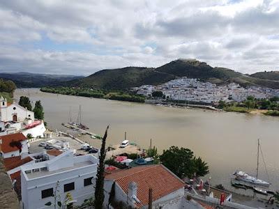 Vistas desde el castillo de Alcoutim