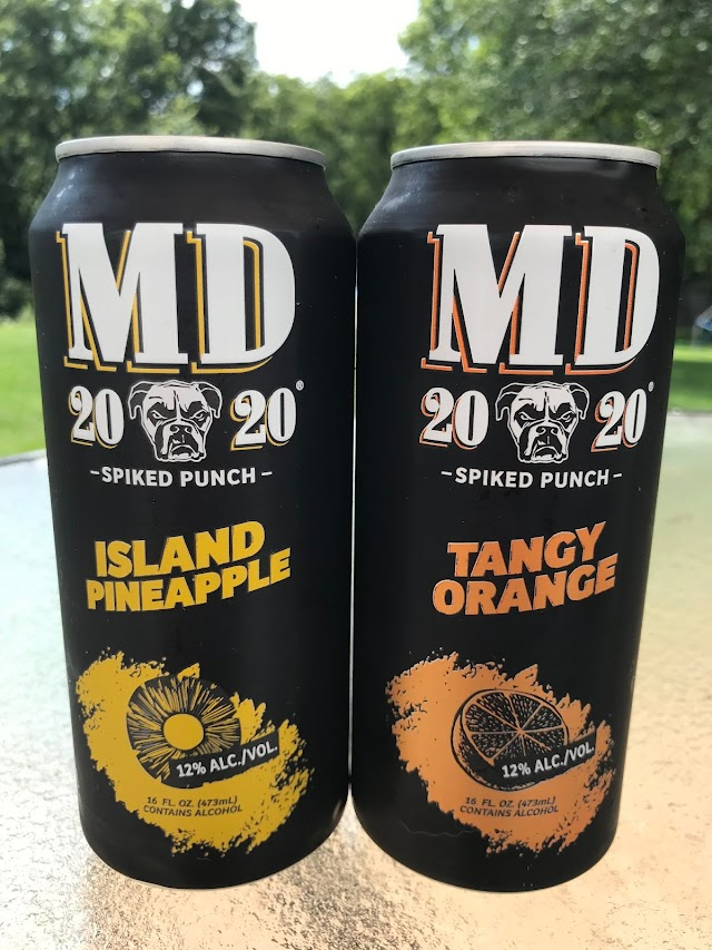 MD 20/20 Spiked Punch Cans: A 2/3 Review