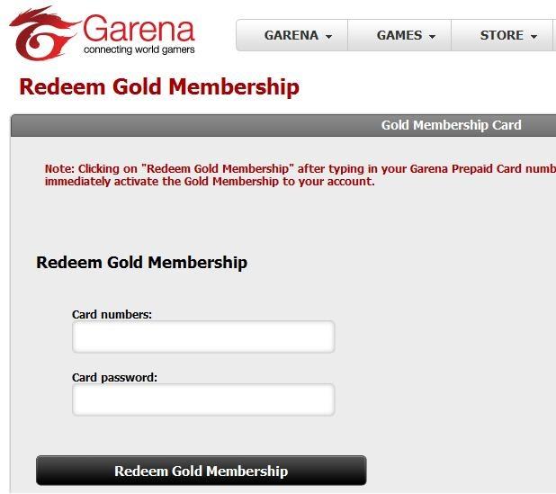 Get gold membership for free garena download