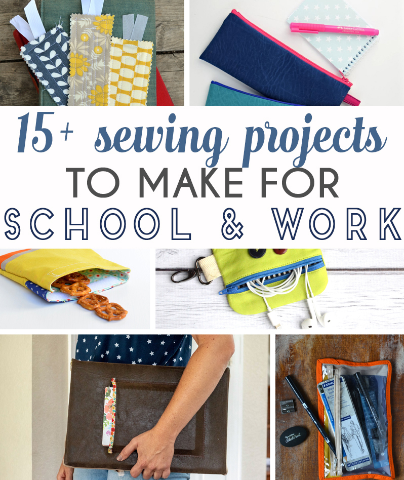 sewing tutorials for school and work