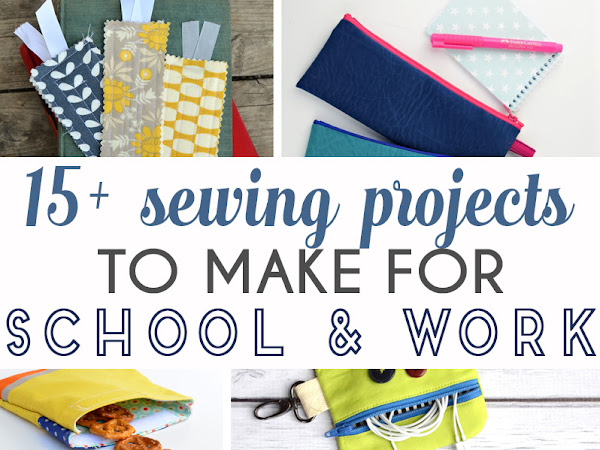 15+ Sewing tutorials for School or Work