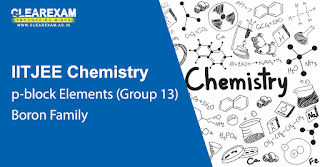 NEET Chemistry p-Block Elements – Boron Family (Group 13)