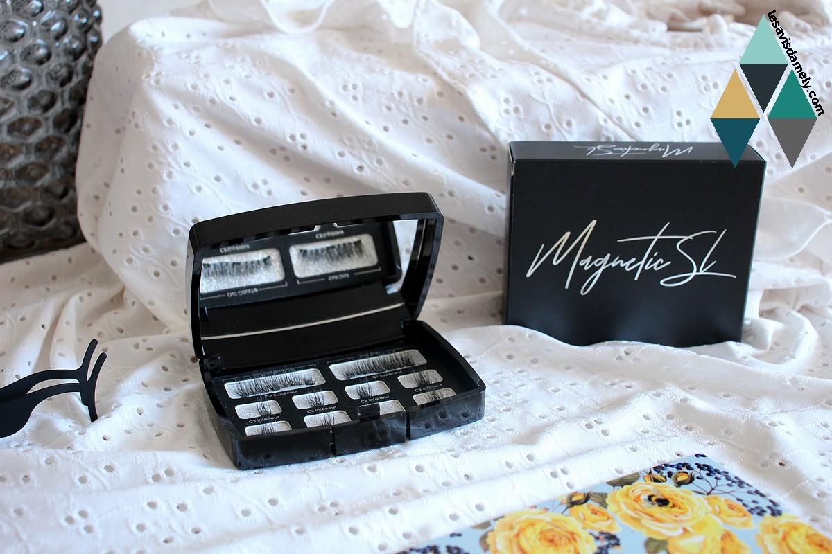 revue beauté faux cils aimantés volume intense magnetic sl